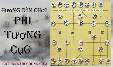 Hướng dẫn cách đánh cờ tướng với thế trận Phi Tượng Cục đối Tả Trung Pháo.